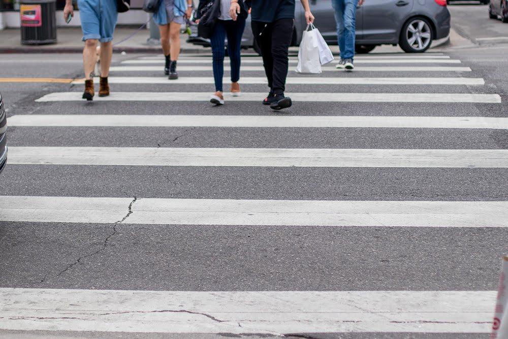 Stockton, CA – Pedestrian Injured in Accident on E Hazleton Ave