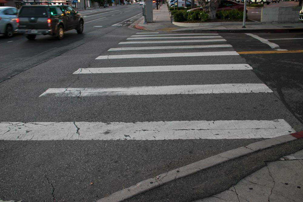Stockton, CA –  Pedestrian Hit by Car & Injured at Kirk Street and Alpine Avenue