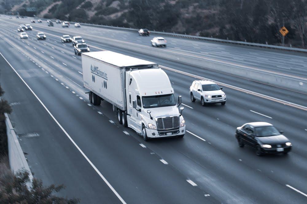 Stockton, CA – Semi-Truck Crashes Into Car Causing Injuries on SR-4 near El Dorado St
