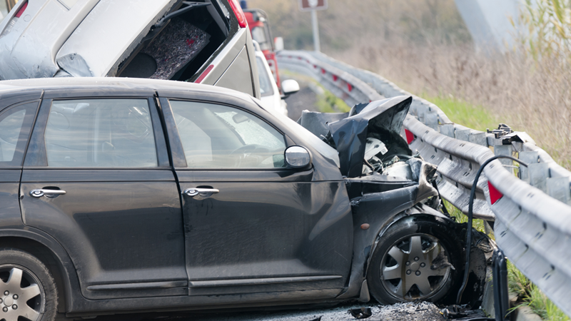 Stockton, CA – One Dead, Two Critically Injured in Head-On Crash on Hwy 99 at Stockton Blvd